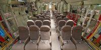 Palletized Seats assembled in C-130
