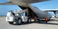 AMISON Cargo loading at Entebbe