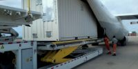 5X-UCF loading 20ft container